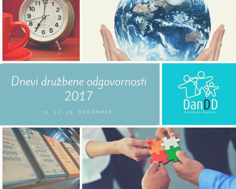Dnevi družbene odgovornosti 2017
