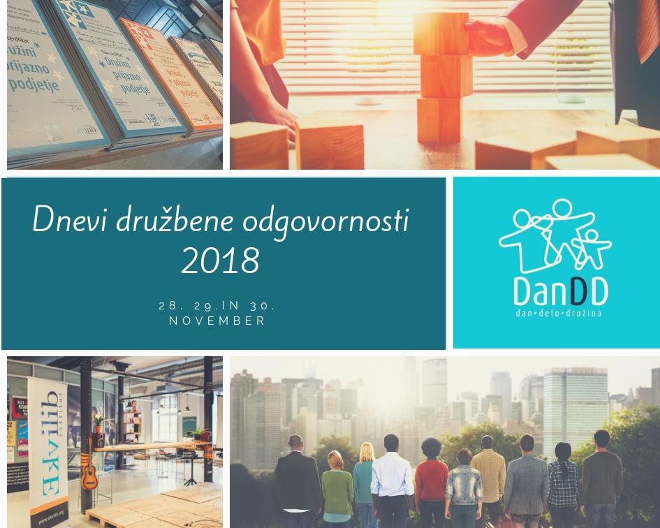 Dnevi družbene odgovornosti 2018